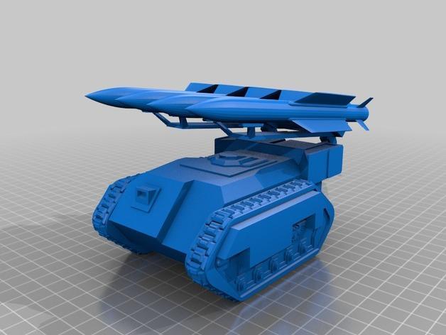 斯芬克斯导弹发射器 3D模型  图4