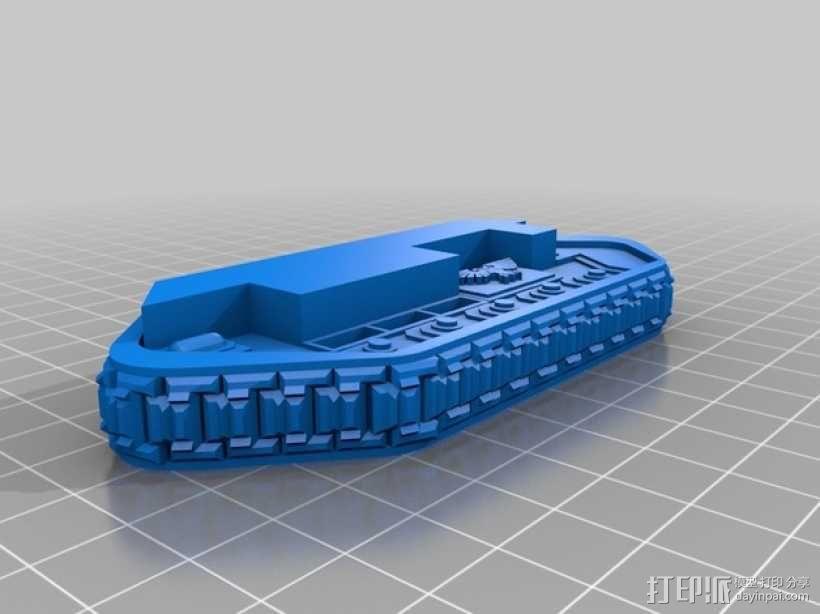 斯芬克斯导弹发射器 3D模型  图10