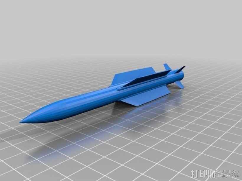 斯芬克斯导弹发射器 3D模型  图9