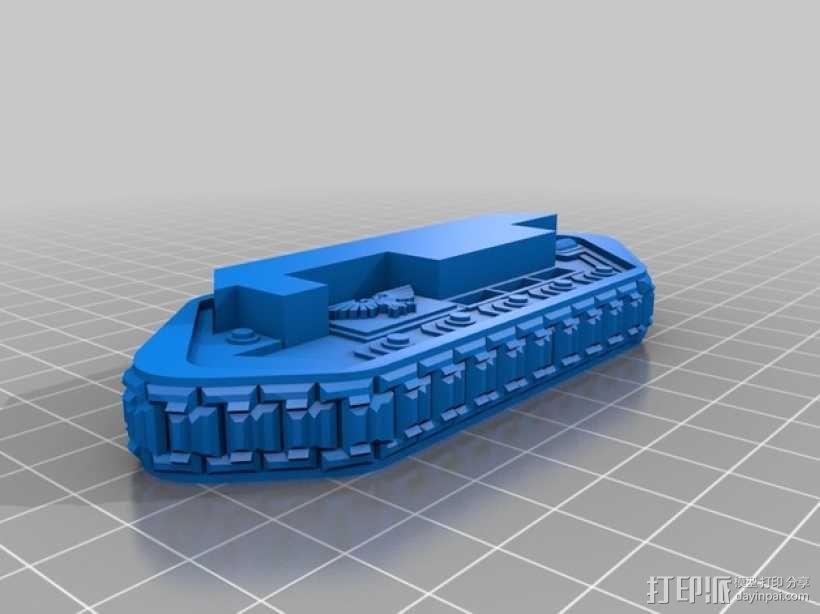 斯芬克斯导弹发射器 3D模型  图11