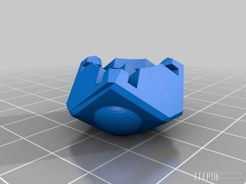 Rubiks空心魔方 3D模型  图2