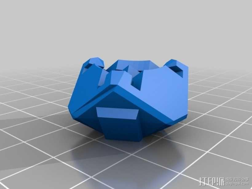 Rubiks空心魔方 3D模型  图20