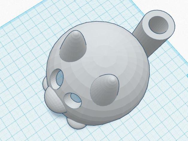 涂鸦猫咪 3D模型  图5