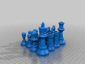 经典象棋 3D模型