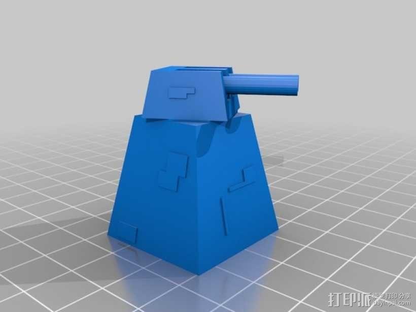 死亡星形刀塔  3D模型  图6