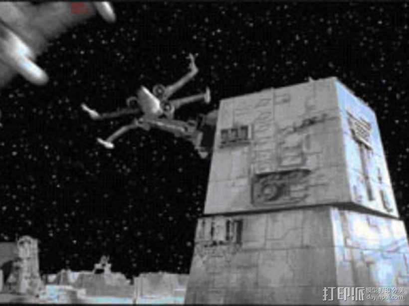 死亡星形刀塔  3D模型  图8