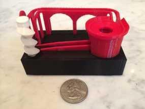 滚珠滑道模型 3D模型
