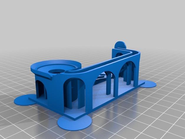 滚珠滑道模型 3D模型  图2