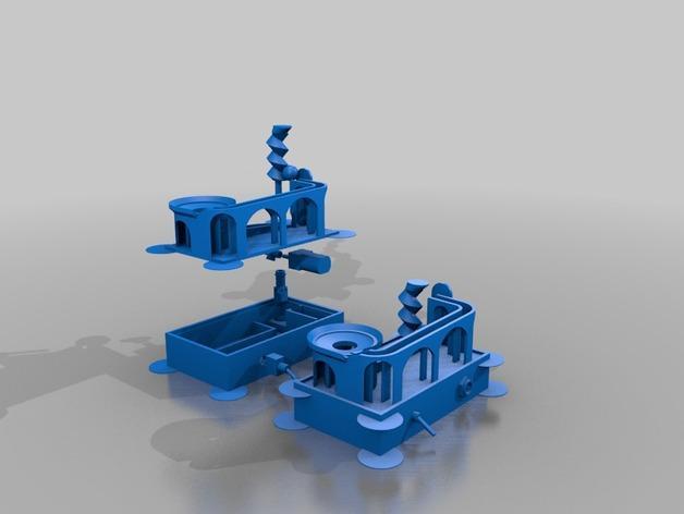 滚珠滑道模型 3D模型  图4