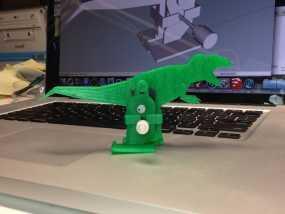 霸王龙步行器 3D模型