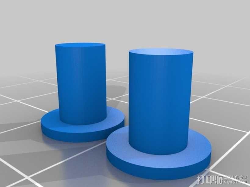 长颈鹿形钟摆 3D模型  图5