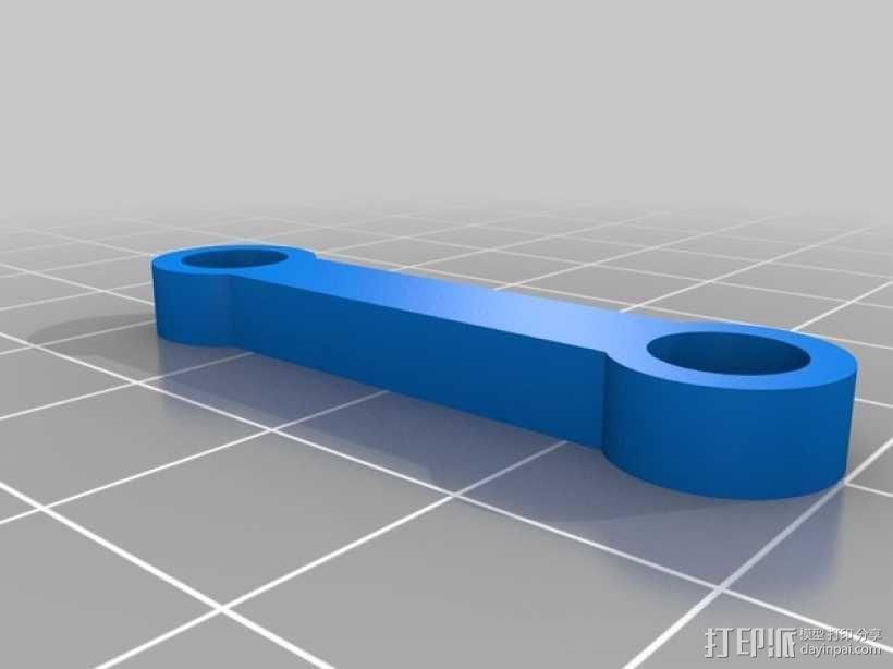 长颈鹿形钟摆 3D模型  图6