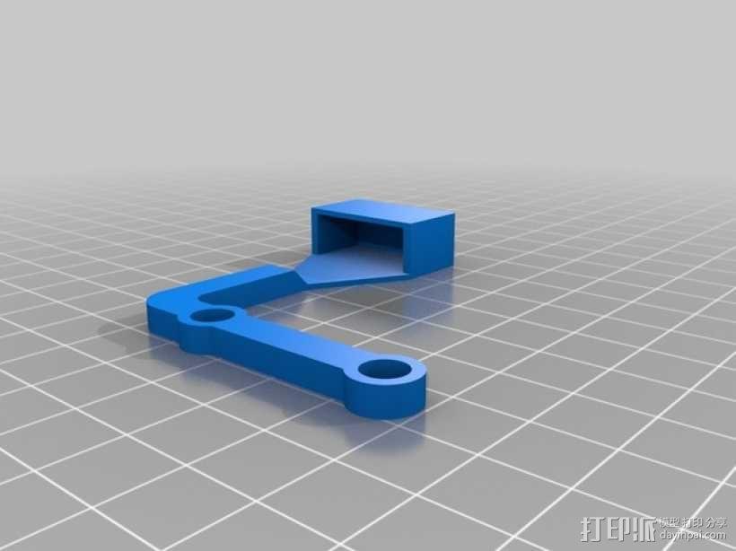 长颈鹿形钟摆 3D模型  图4