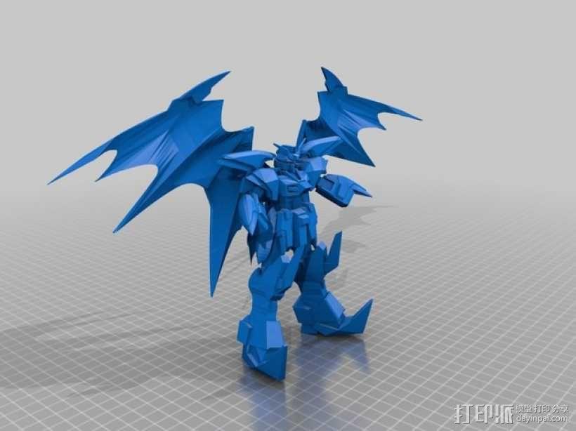 死神高达机器人模型 3D模型  图2