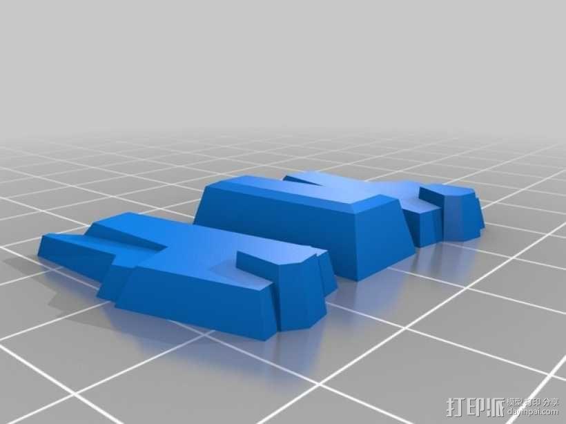 死神高达机器人模型 3D模型  图6