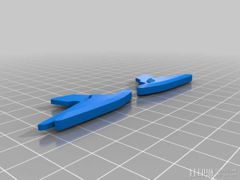 死神高达机器人模型 3D模型  图11