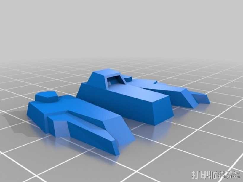 死神高达机器人模型 3D模型  图13