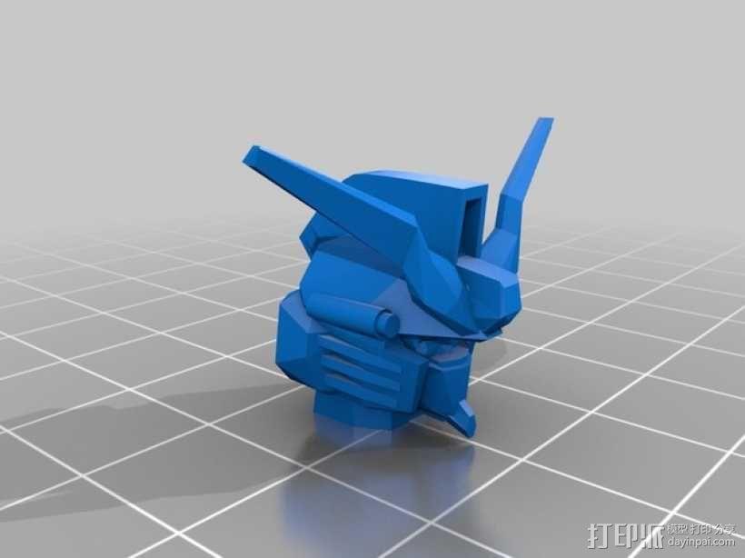 死神高达机器人模型 3D模型  图12