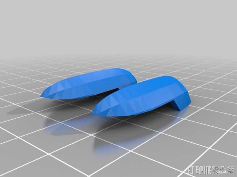 死神高达机器人模型 3D模型  图14