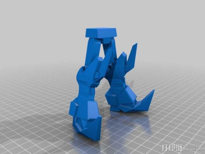 死神高达机器人模型 3D模型  图15