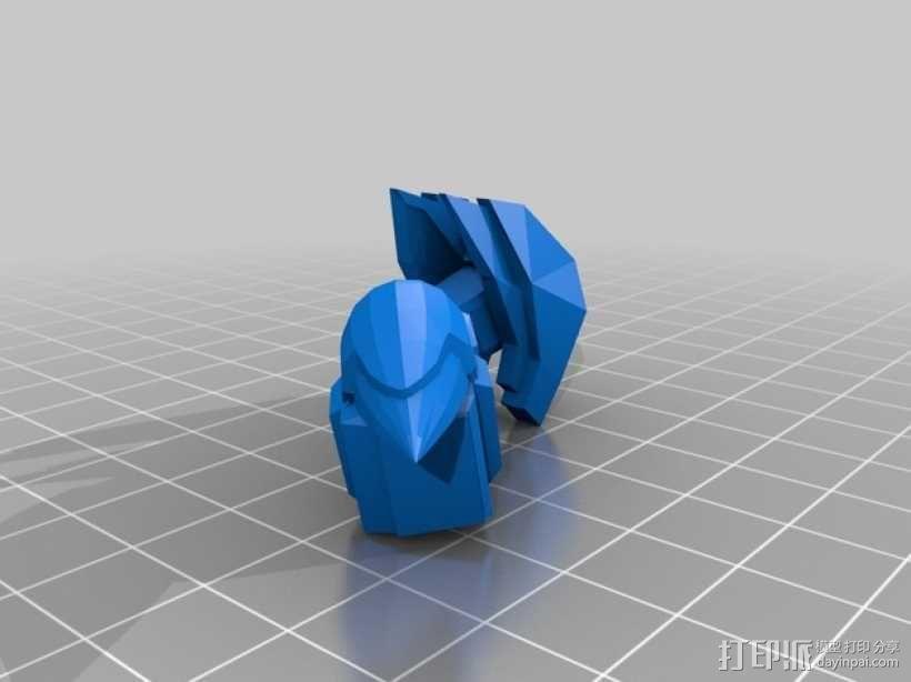 死神高达机器人模型 3D模型  图16