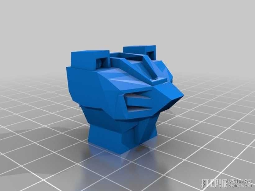 死神高达机器人模型 3D模型  图17