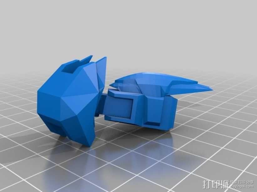 死神高达机器人模型 3D模型  图18