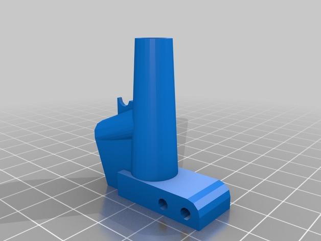 迷你软弹大炮 3D模型  图3