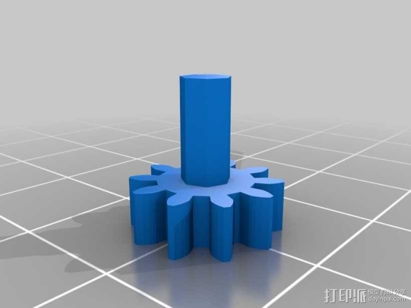 简易行星齿轮  3D模型  图3