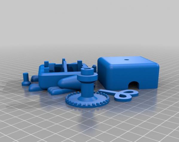 青蛙形立方体 3D模型  图2