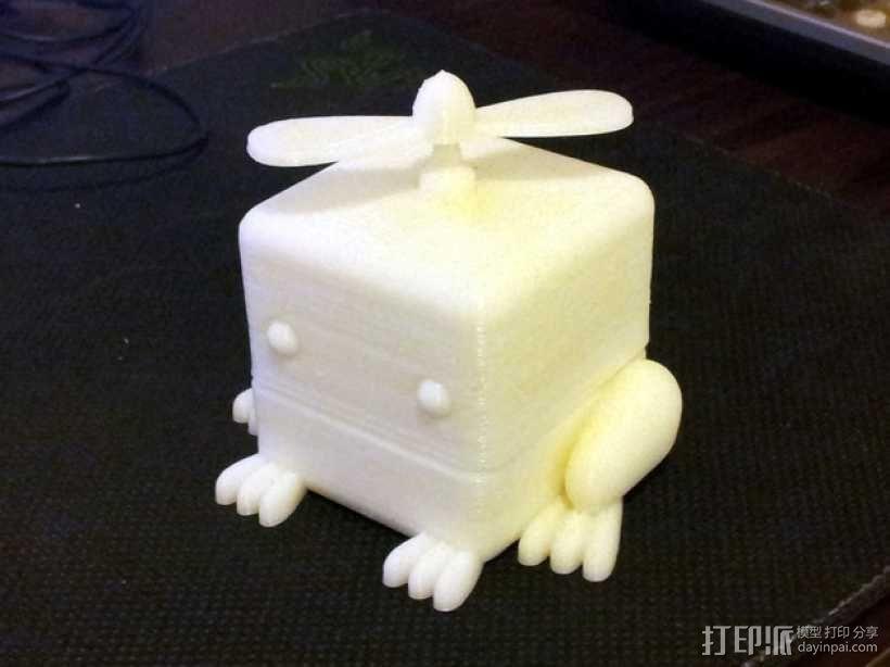 青蛙形立方体 3D模型  图1