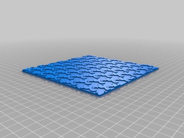 简易拼图 3D模型  图2