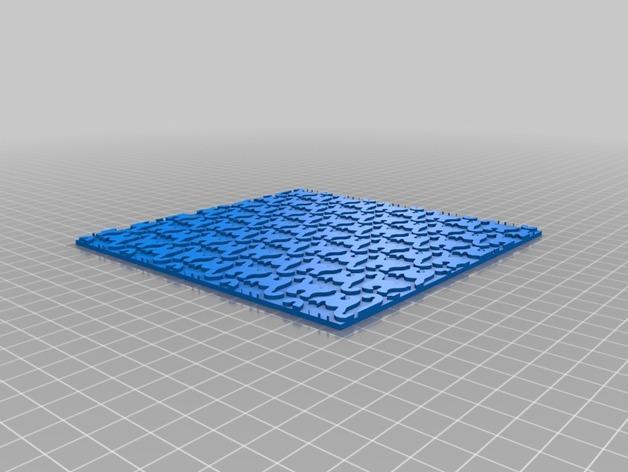 简易拼图 3D模型  图4
