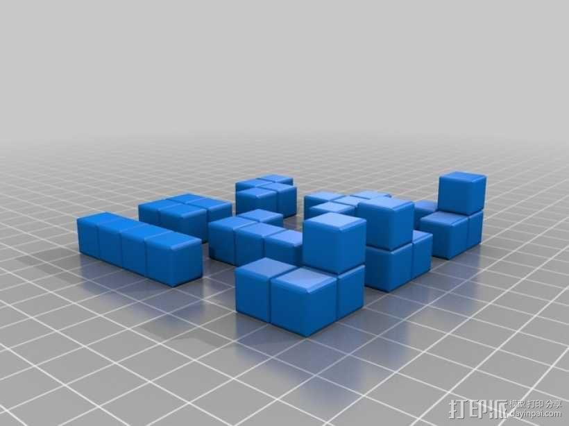 俄罗斯方块 3D模型  图4