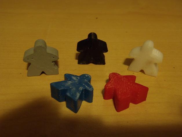 桌游米宝 3D模型  图2