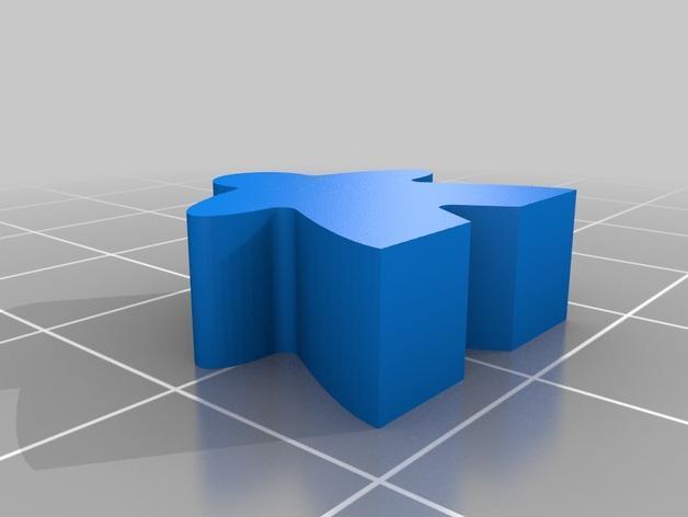 桌游米宝 3D模型  图3