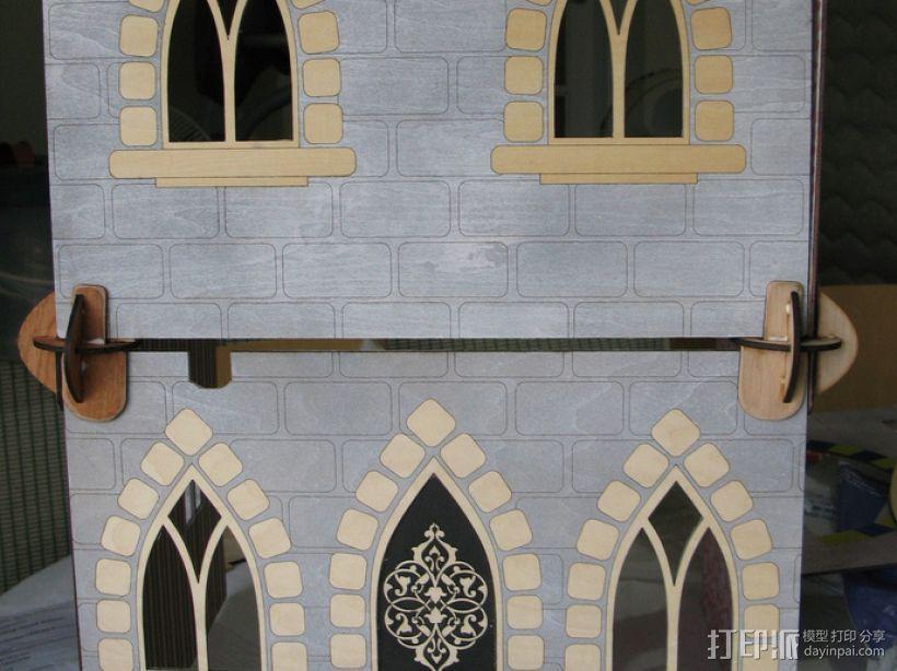 玩具城堡 3D模型  图3