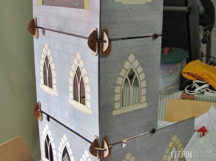 玩具城堡 3D模型  图4