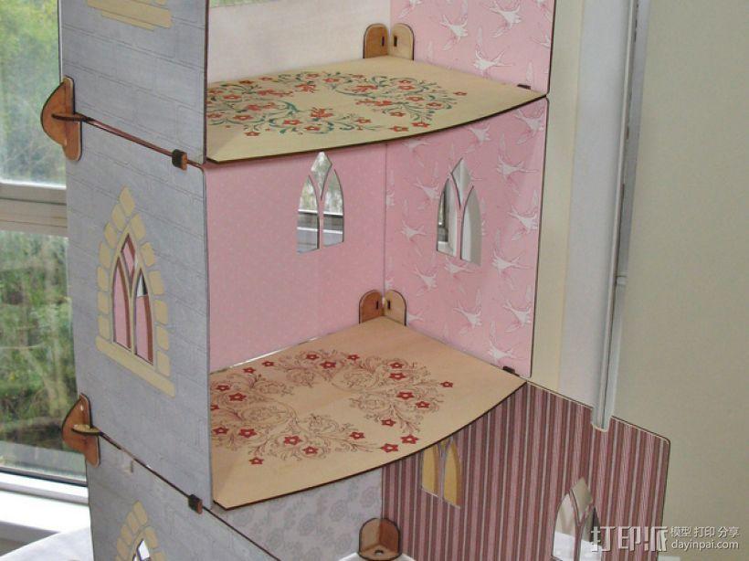 玩具城堡 3D模型  图5