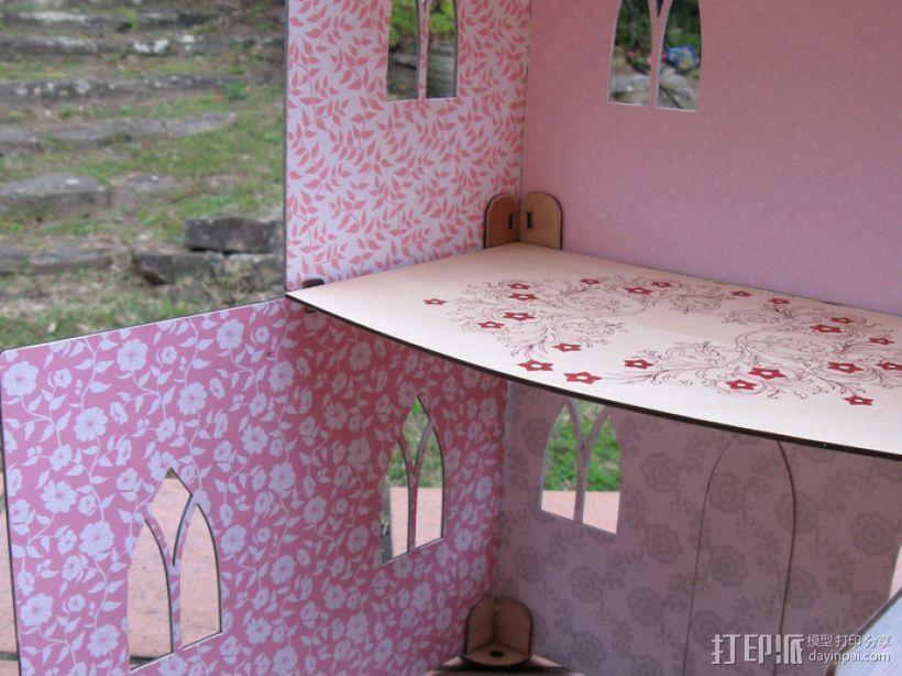 玩具城堡 3D模型  图7