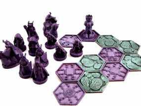 《Pocket-Tactics》战略游戏 3D模型