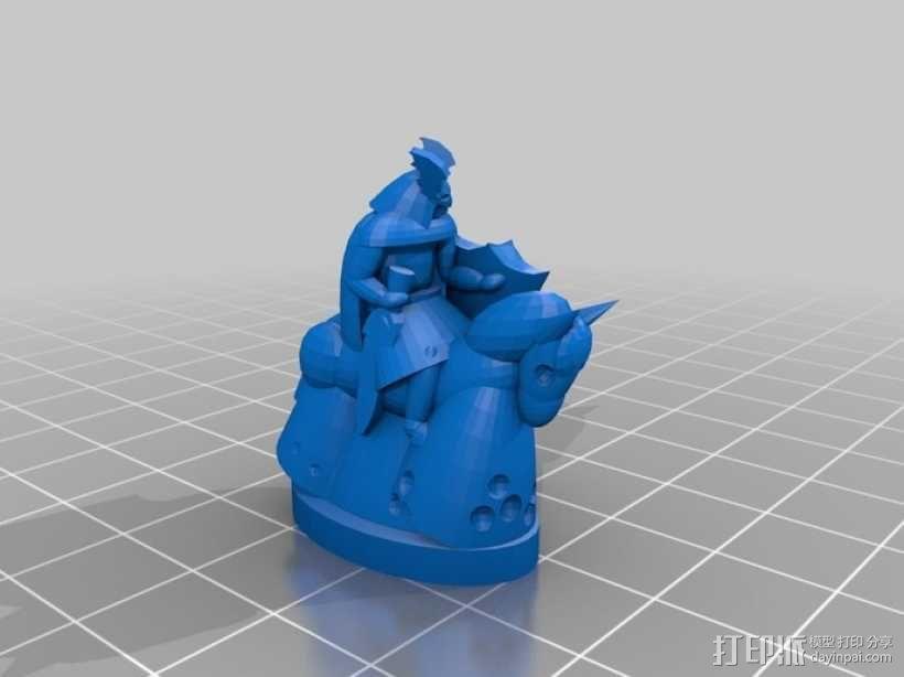 《Pocket-Tactics》战略游戏 3D模型  图4