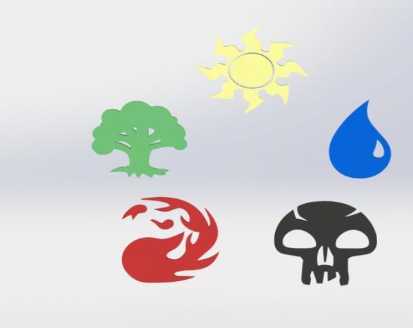 各种游戏徽章 3D模型  图7