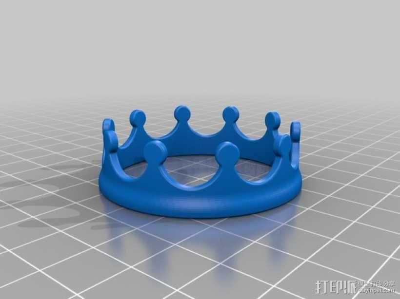 王冠 3D模型  图2