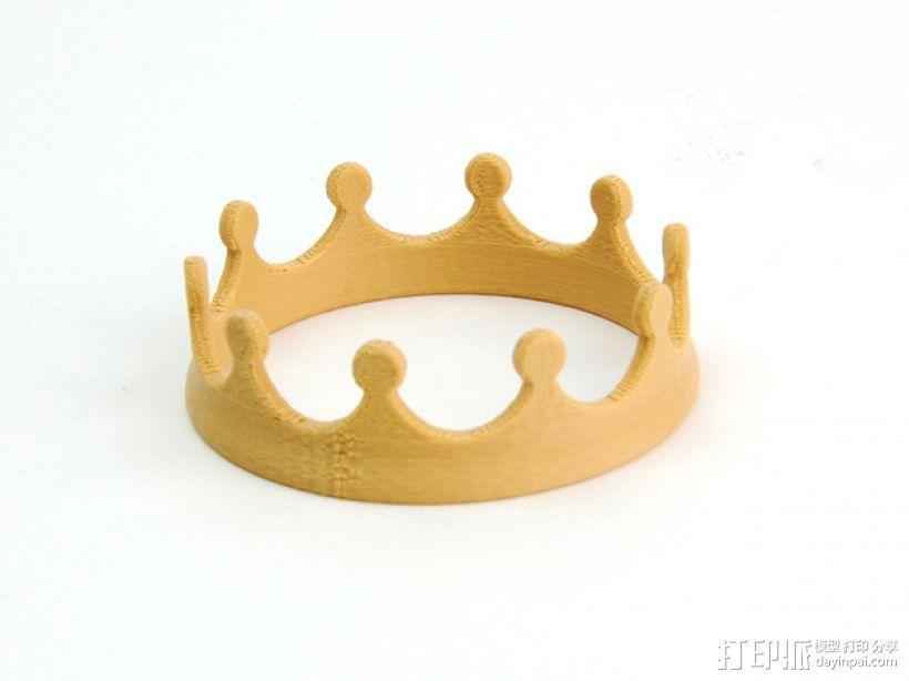 王冠 3D模型  图1