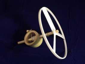 飞机螺旋桨 3D模型