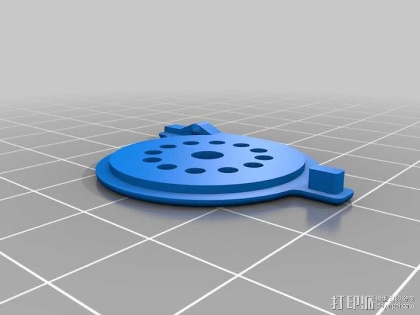 口哨 3D模型  图2