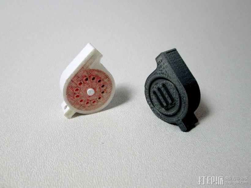 口哨 3D模型  图4