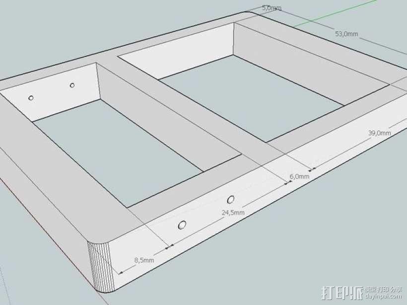 计数器模型 3D模型  图3