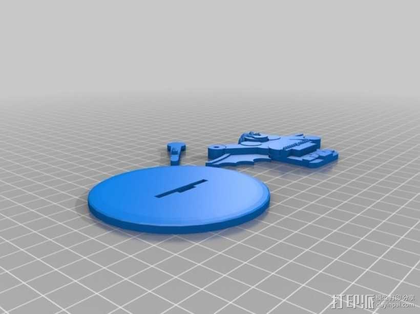 矮人战士 3D模型  图2
